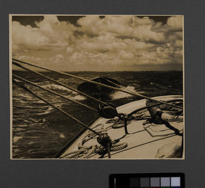 [Photograph relating to the attacks on U-boats 620 and 381 by 202 squadron in Catalina FP223 'J']; Unknown Photographer; 1990; 1943
