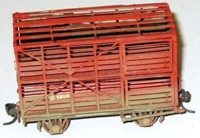 Model Rail Wagon