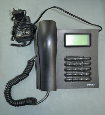 Telephone [Snom 100 VOIP telephone]