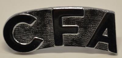 CFA Badge