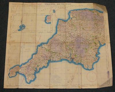 England, south west : air : sheet 10
