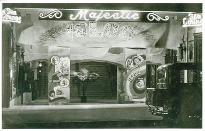 Majestic Cinema entry, c 1934