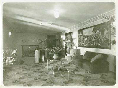 [Interior of Britannia Cinema Theatre]