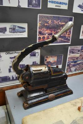 Cheque Perforator