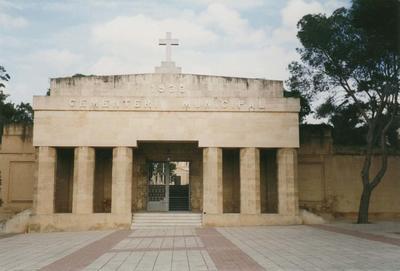 Cemetery in Majorca where Jean Batten is buried