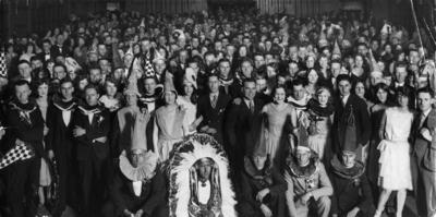 Auckland Retailers Association dance, Scott's Hall, 1929