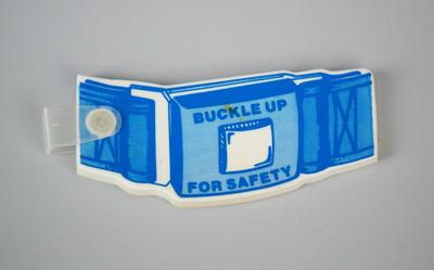 Keyring Tag [Buckle Up for Safety]