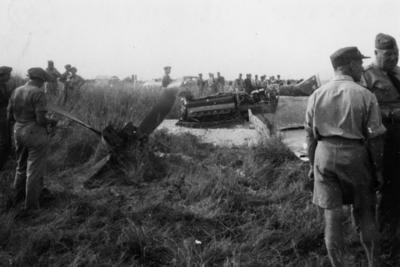 RNZAF Mustang NZ 2430 crash