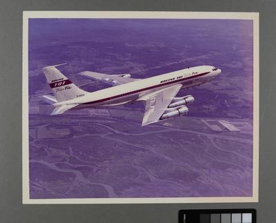 [Photograph Boeing 707 Turbo Fan]