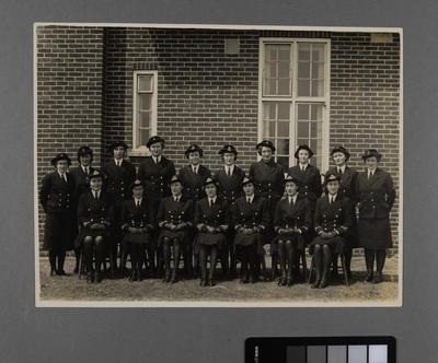 W.R.N.S. Officers & N.C.O. Stationed at Worthy Down Nr Winchester