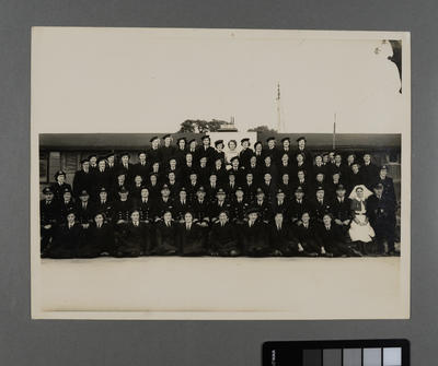 [Group photograph at First Air Mechanic Training Establishment]