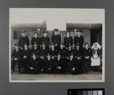 Officers of H.M.S Fledgling