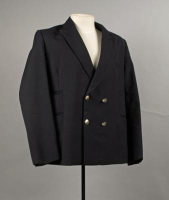Uniform Jacket [Rail Guard]; A Levy Limited; New Zealand Railways; 1972