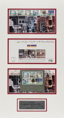[Bletchley Park Post Office commemoration envelopes]