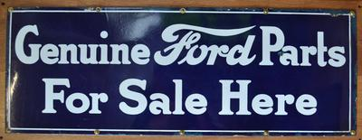 Sign [Genuine Ford Parts]