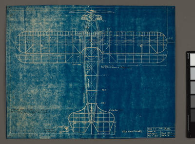 """The """"Tui"""" Sport Plane [Plan view assembly]"""