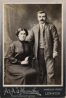Photograph of man and woman