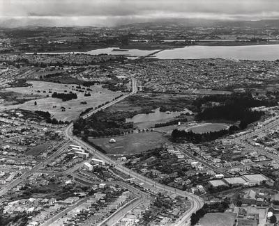 Aerial view of Western Springs