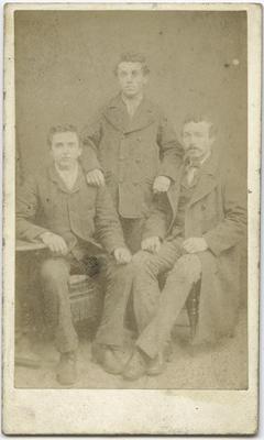 Photograph of three men