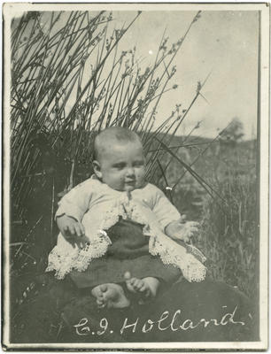 Photograph of a baby
