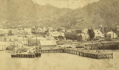 Photograph of Picton 1875
