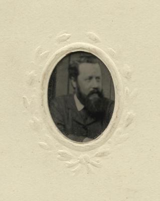 Miniature photograph of a man