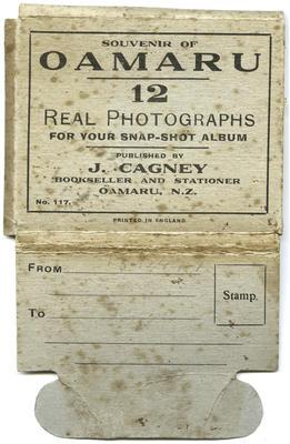 Souvenir of Oamaru : 12 real photographs for your snap-shot album. No.117