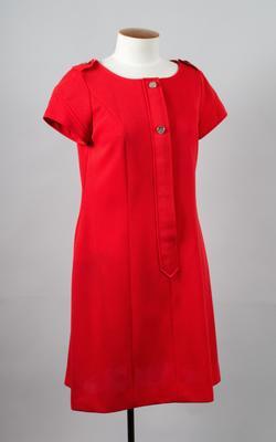 Uniform Dress [Silver Star/Fern, Rail]; New Zealand Rail; 1972-1975