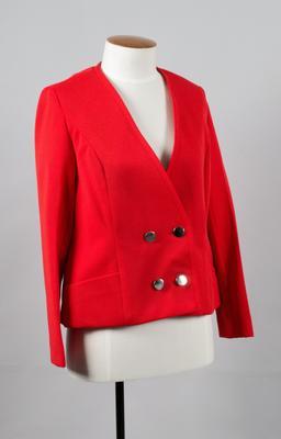 Uniform Jacket [Silver Star/Fern, Rail]; New Zealand Rail; 1972-1975