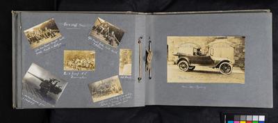 Photo album of Major Henry D. Williams