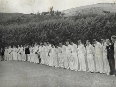 [Unidentified cricket team]
