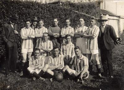 [Unidentified soccer team]