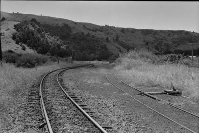 Photograph of approaches to Hoteo station