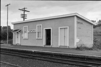 Photograph of Taipuha station