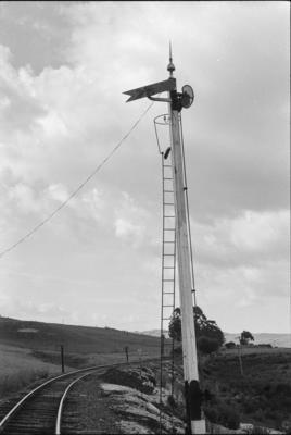Photograph of signal post, Taipuha