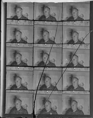 [15 images on a glass plate negative]