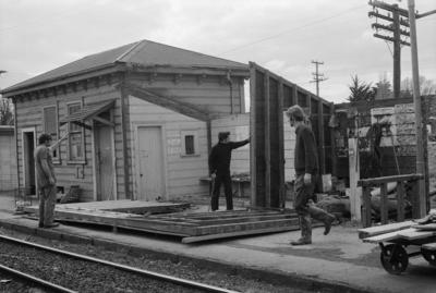 Photograph of Waitakere station building
