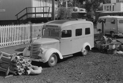 Photograph of Chevrolet ambulance