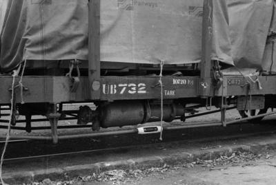 Photograph of wagon UB 732