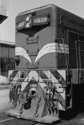 Photograph of locomotive DA 1419