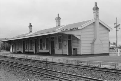 Photograph of Ngaruawahia station
