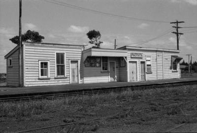 Photograph of Paerata station