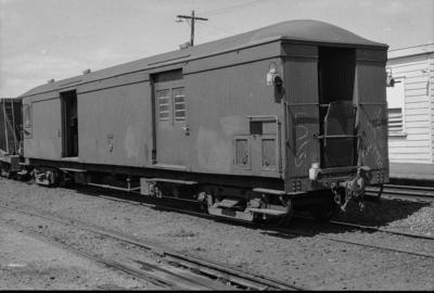 Photograph of guard's van F 501