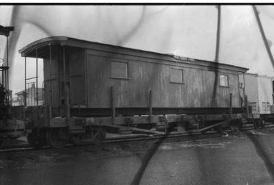 Photograph of old six-window carriage