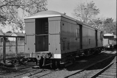 Photograph of guard's van F 513
