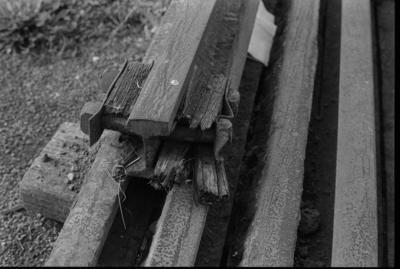 Photograph of rail-fixing bolt