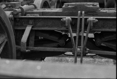 Photograph of old bogies