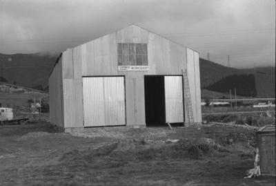 Photograph of Ferrymead Railway workshop