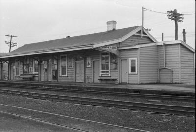 Photograph of Henderson railway station