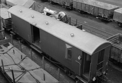 Photograph of freight van